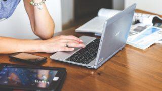 文字数をカウントしながらブログを書いてみよう。
