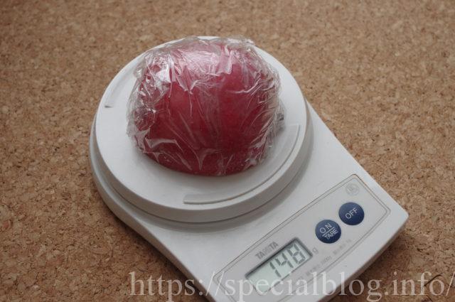 リンゴ148グラム画像