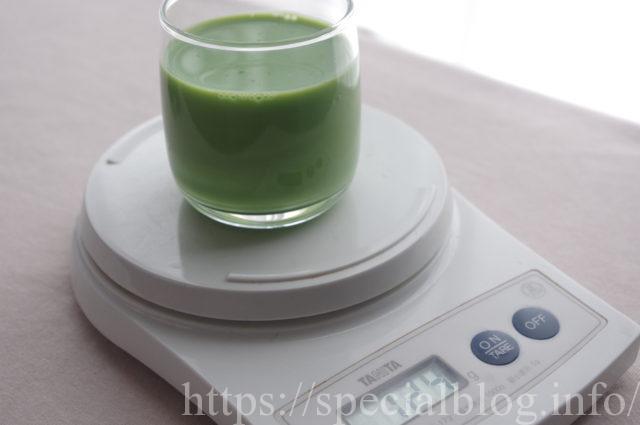 ハコベと豆乳のジュース画像1