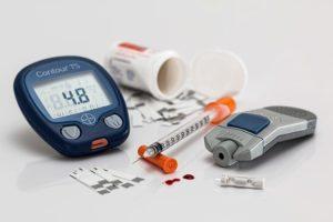 血糖値測定器画像