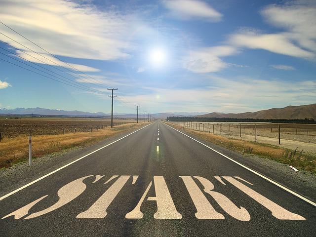 道路スタート画像