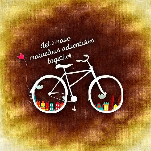 自転車のイラスト画像