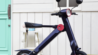 折り畳み電動バイク UPQ BIKE me01!スマホの充電もできる!