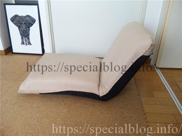 修繕後のフカフカになった座椅子